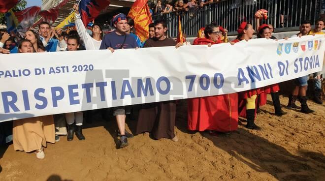 Protesta comuni palio 2019
