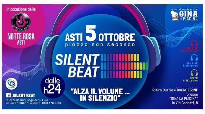 silent beat copertina