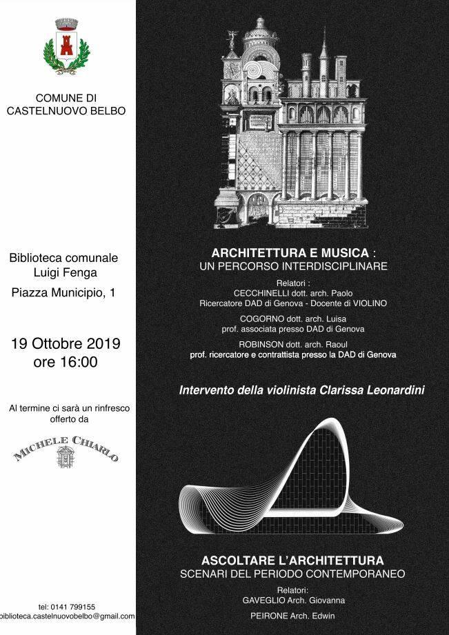ARCHITETTURA E MUSICA: UN PERCORSO INTERDISCIPLINARE