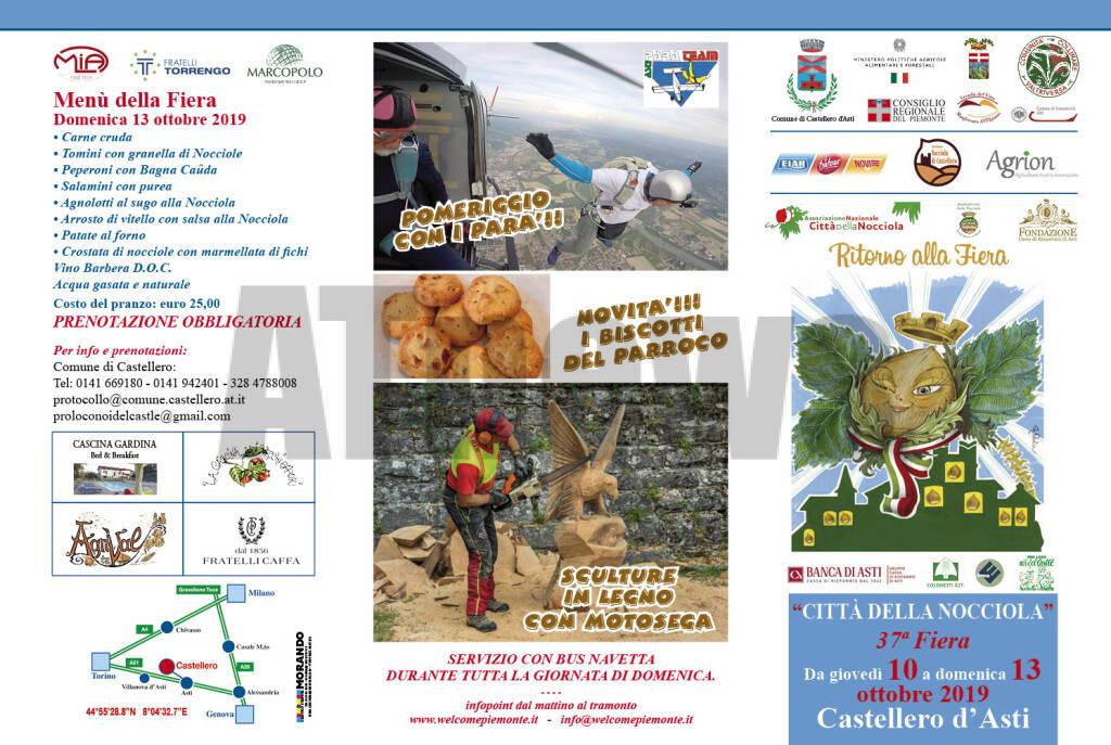37 Fiera della Nocciola a Castellero