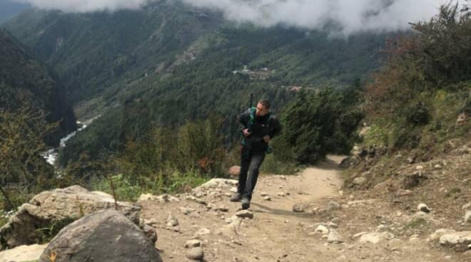 Matteo, l'astigiano in alta quota e senza paura che sfida l'Everest