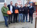 consegna defibrillatori nursind asti calcio