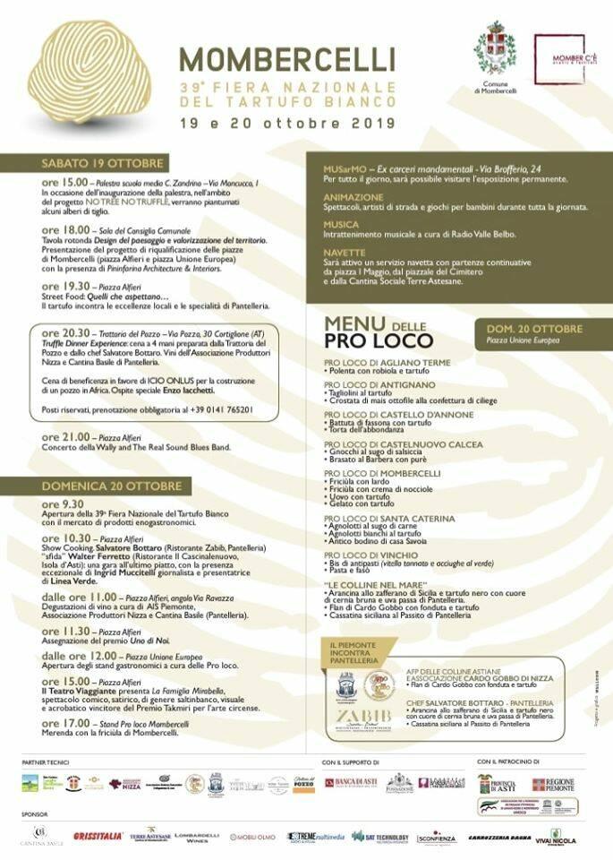 fiera del tartufo 2019 mombercelli