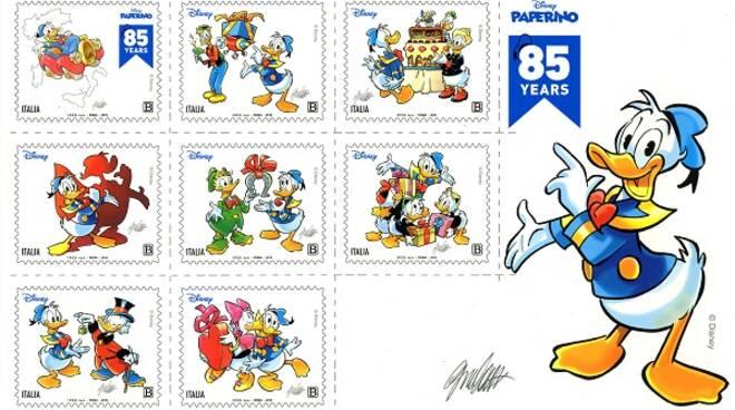 francobollo paperino