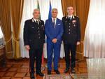 il Prefetto di Asti incontra il Tenente Colonnello Pierantonio Breda, ed il Maresciallo Alessandro Pinna