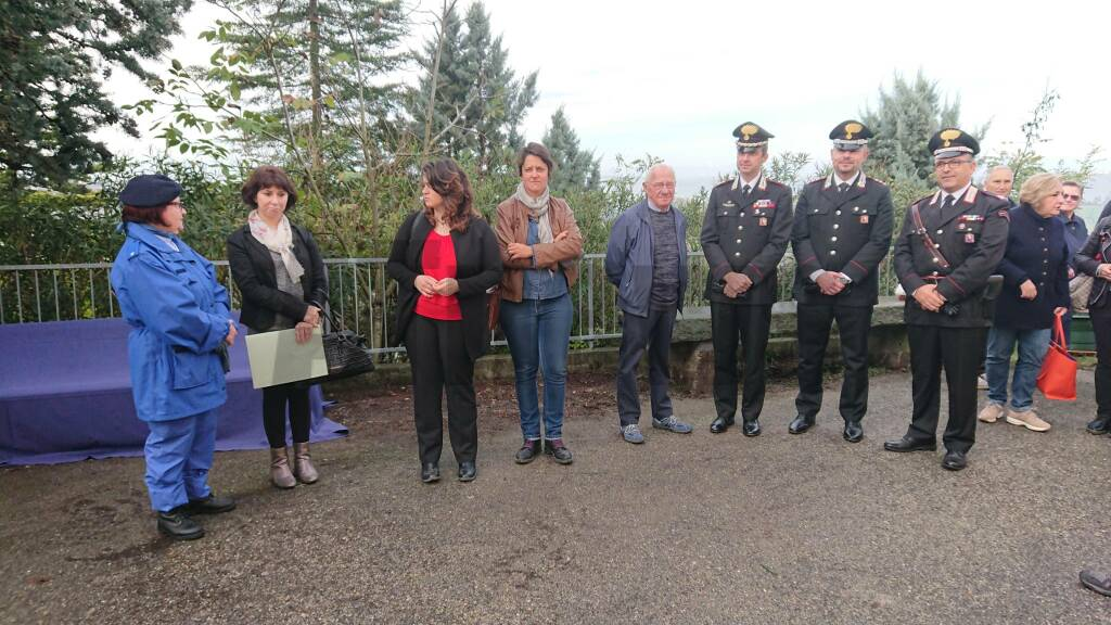 Inaugurazione Panchina Rossa Costigliole d'Asti