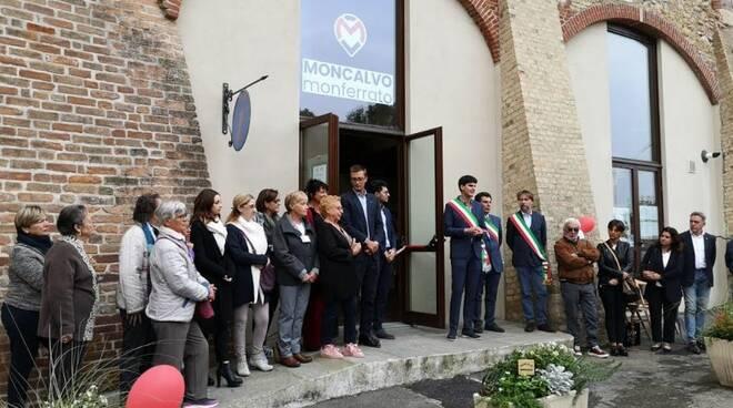 inaugurazione ufficio turistico di moncalvo