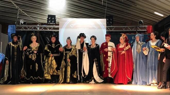 la notte di dame e cavalieri