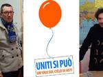 Michele Anselmo e Beppe Passarino - consiglieri comunali Uniti si puó