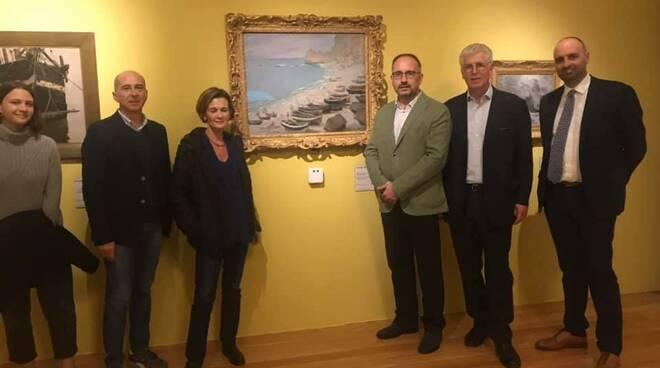 Sottosegretario Bonaccorsi a mostra Monet