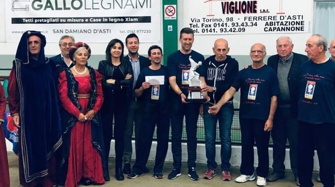 Trofeo comuni bocce 2019