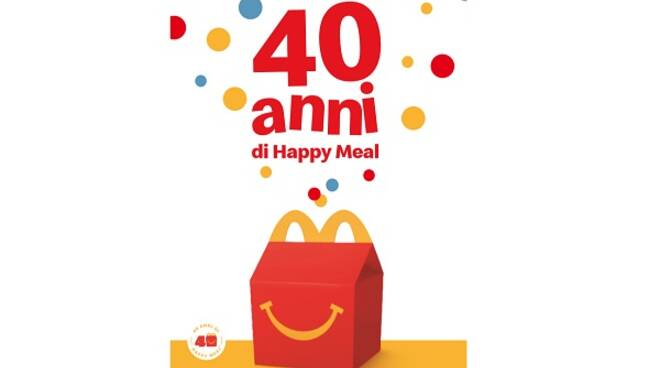 buon compleanno happy meal