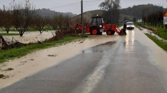 danni maltempo strade provincia asti