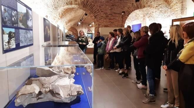docenti al museo dei fossili