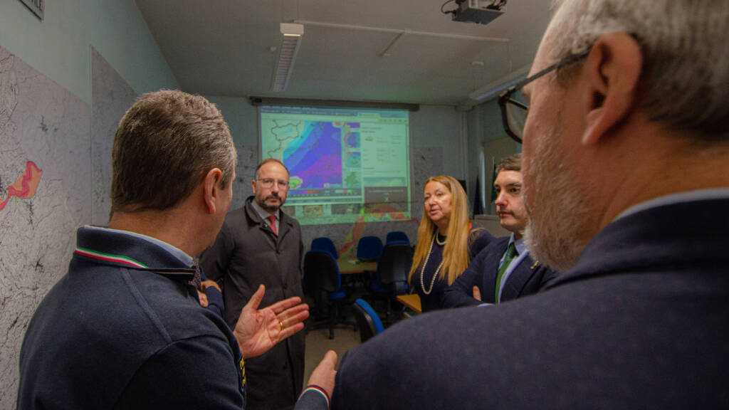 Esercitazione della Protezione Civile di Asti in caso di emergenza alluvionale