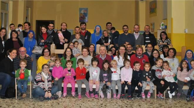 L'asilo infantile di Isola d'Asti ha aperto le sue porte ai genitori