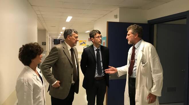 L'Assessore Icardi in visita ad Asti ai feriti di Quargnento