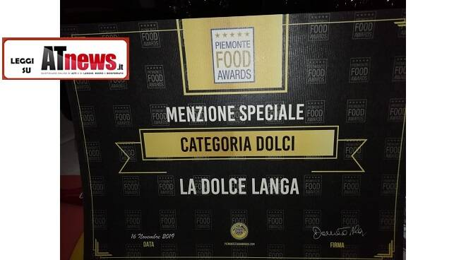 la dolce langa Piemonte Food Awards