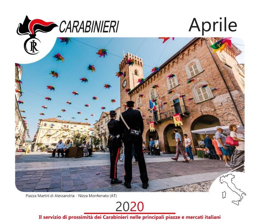 Nizza calendario Carabinieri 2020