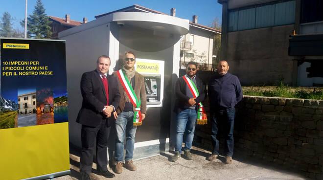 nuovo ATM Postamat nel Comune di Albaretto Della Torre