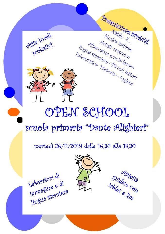 open school scuola dante