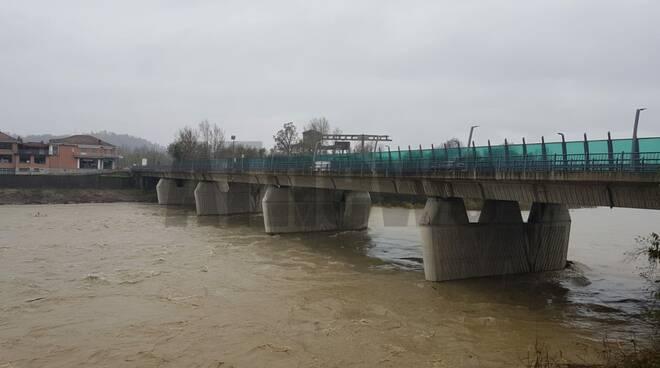 Situazione fiumi Asti 23 novembre 2019 ore 14