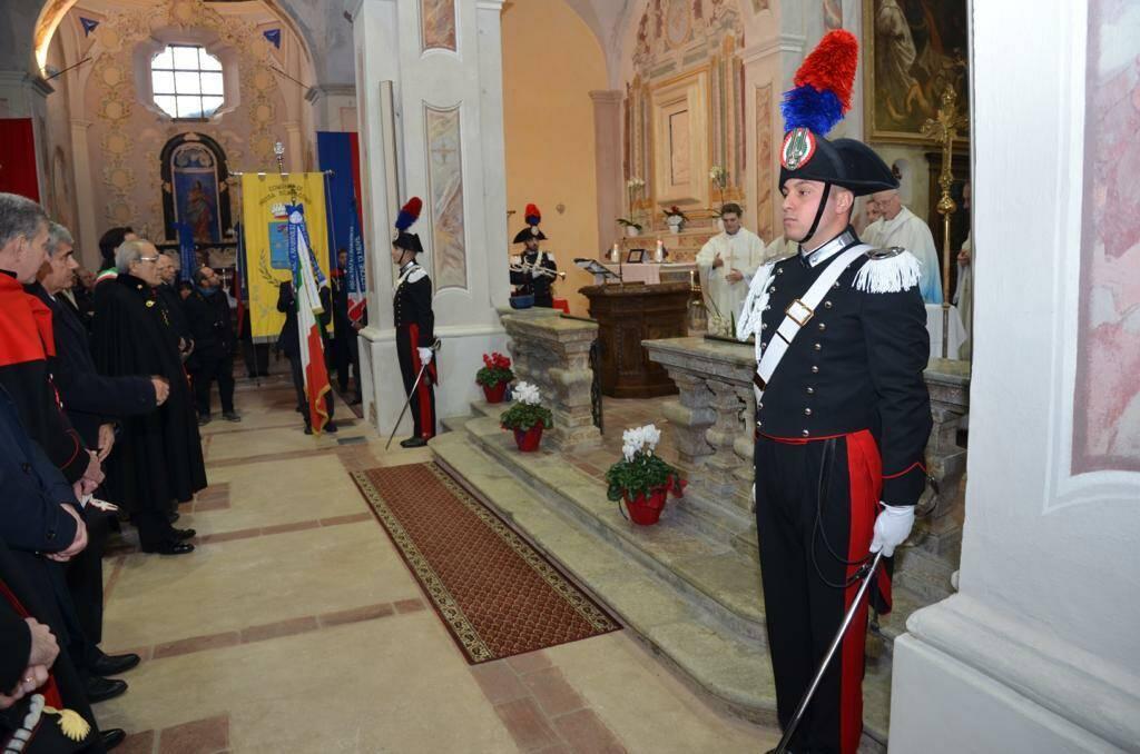 Virgo fidelis 2019 Carabinieri