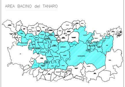 area bacino tanaro