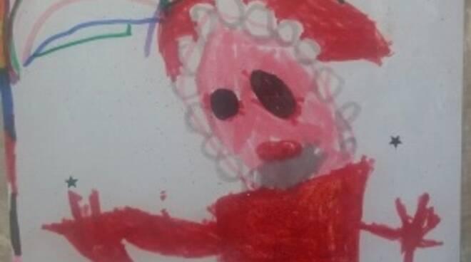 Auguri Natale Sezione Gialli Scuola dell'Infanzia De Benedetti Asti