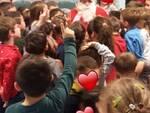 Babbo Natale alla scuola dell\'infanzia de Benedetti.