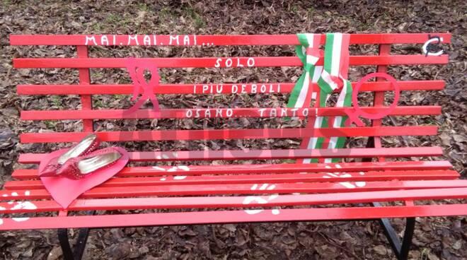 La Panchina Rossa a Quaranti