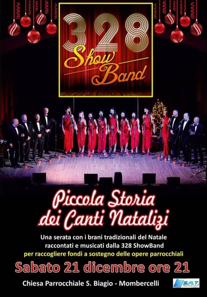 concerto natale mombercelli show band