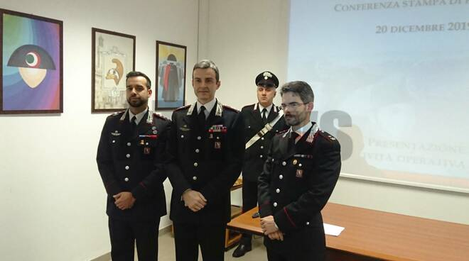 Conferenza Carabineri 20122019