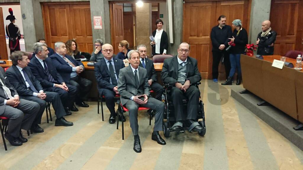 Consegna delle Onorificenze al Merito della Repubblica Italiana 2017 Asti
