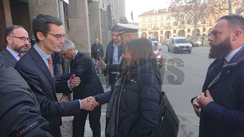 Ministro De micheli ad Asti