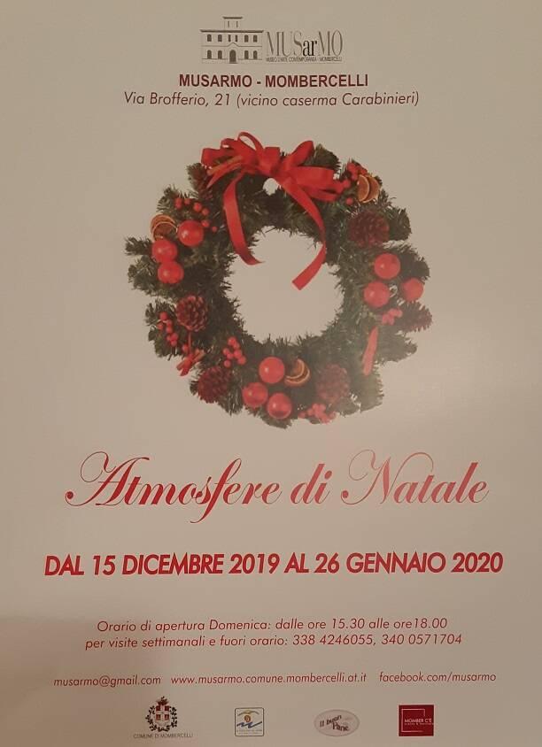 mostra natalizia al Musarmo di Mombercelli