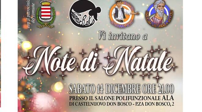 note d natale castelnuovo don bosco