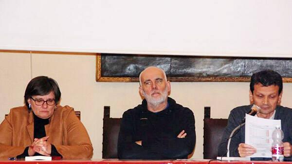 Presentazione a Vinchio dell'ultimo libro di Mario Renosio dell'Istrat di Asti
