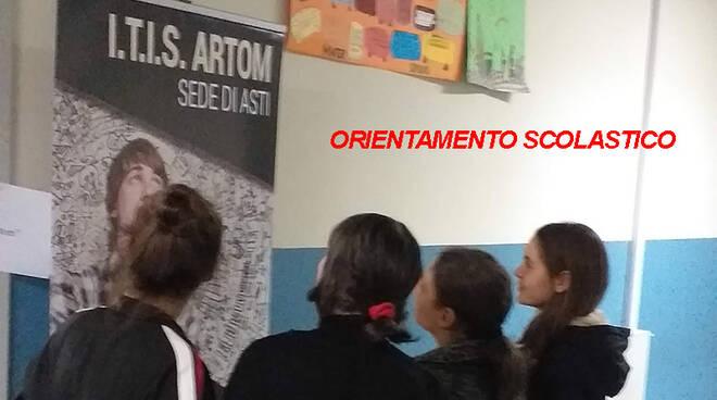 salone dell'orientamento scolastico a San Damiano d'Asti