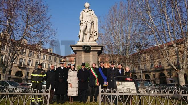Cerimonia anniversario nascita Vittorio Alfieri 2020