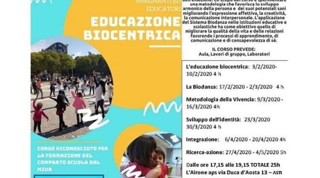 corso formazione educazione biocentrica