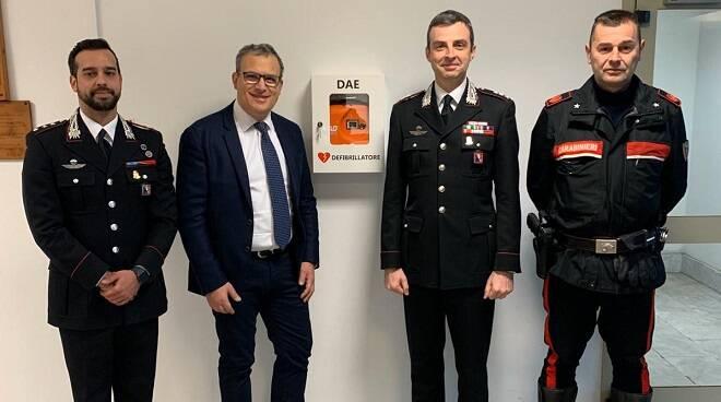 defibrillatore carabinieri asti