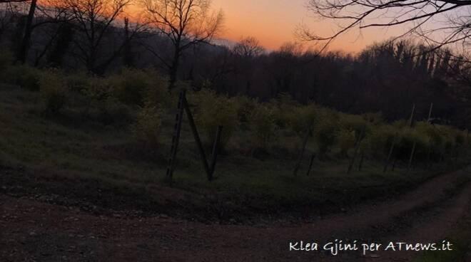 in cerca di bellezza tramonti e campagne nervo e gjini