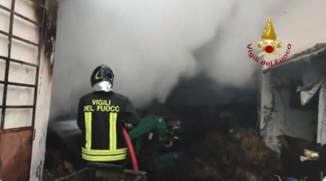incendio nizza monferrato 19012020