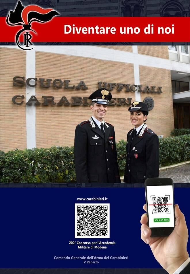 locandina accademia carabinieri