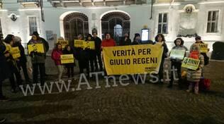 Manifestazione Giulio regeni gennaio 2020
