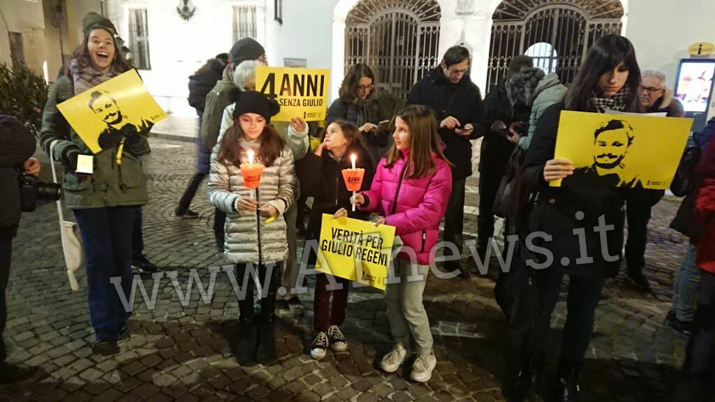 Manifestazione Giulio Regeni gennaio 2020 Asti