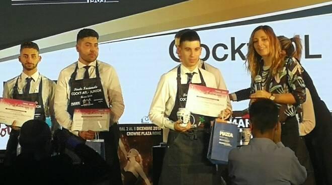 premiazione alessio calvarese 70° Convegno AIBES