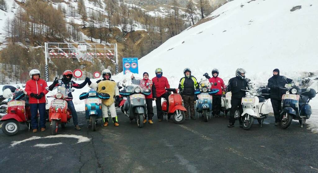 Vespa Club Alfieri all'AgnelloTreffen 2020