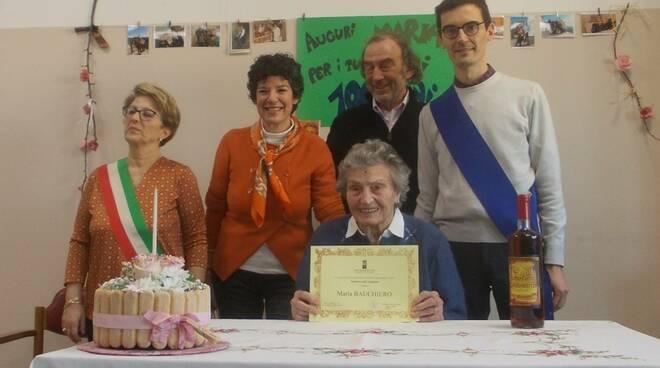 centenaria cocconato maria bauchiero